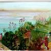 "A view From Villa Cimbroni, Ravello 15""x 22' Price: $500. Unframed"