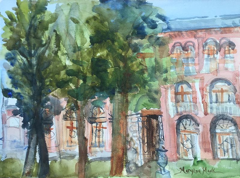 Front Door,  San Clemente Place, Venice