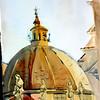 """Piazza del Populo Church Dome - Rome 15"""" x 11"""" Price: $150. Unframed"""