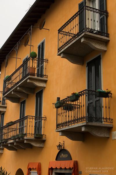 Colorful Terrace in Varenna
