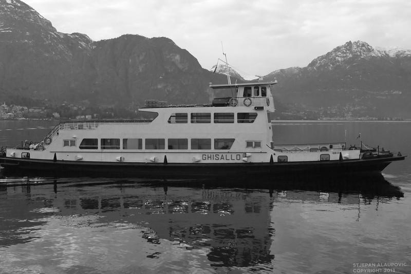 Ghisallo Ship in Lake Cuomo