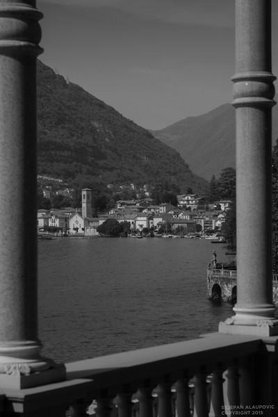 Scenes along Lake Como