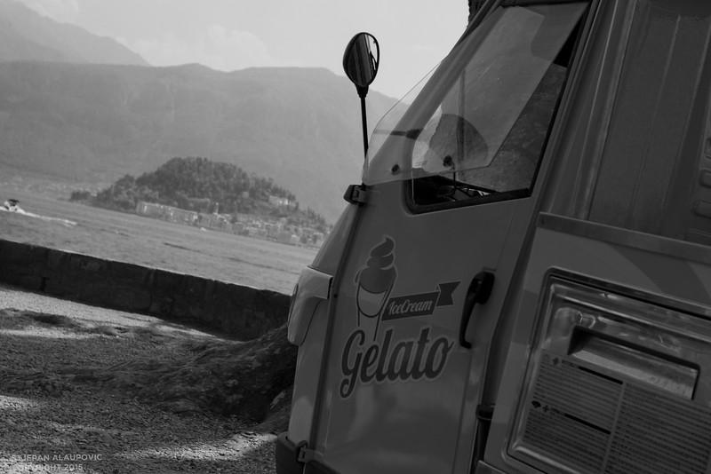 Gelato Truck at Villa Carlotta