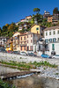 The Lake Como village of Argegno, Lombardy, Italy, Europe.