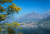 A Lake Como view in autumn, Lombardy, Italy, Europe.