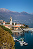 The Lake Como village of Lenno, Lombardy, Italy, Europe.