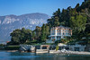 A Lake Como mansion near Varenna, Lombardy, Italy, Europe.