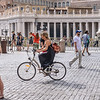 Riding Past St. Peter's Square