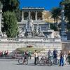 Bike Tour in Piazza del Popolo