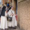 Nuns Outside the Gelateria