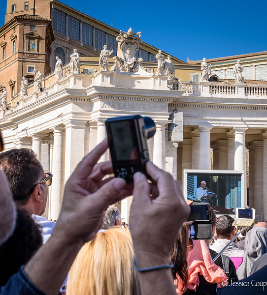 Capturing the Pope