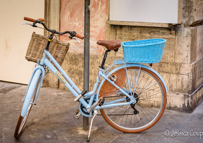 Brown and Blue Baskets