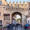 Arch into Trastevere