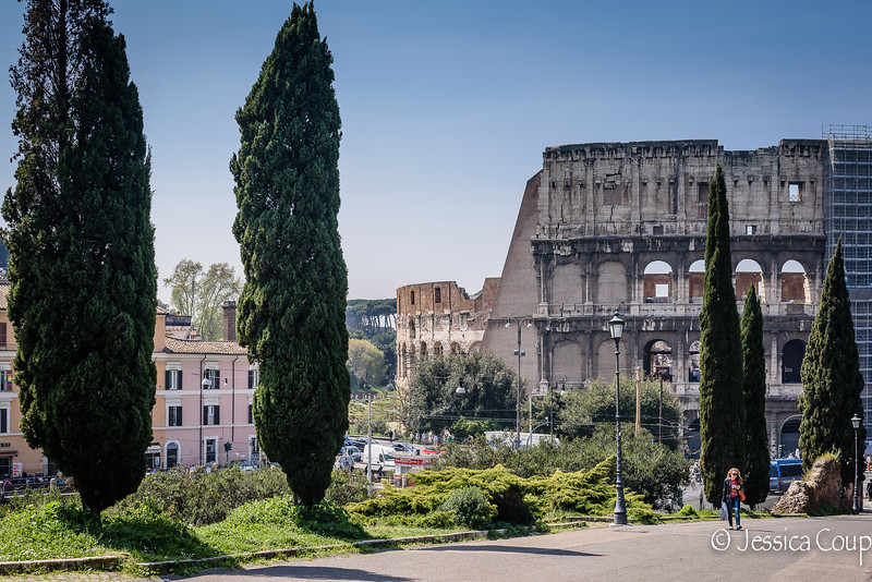 Colosseum from the Park