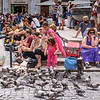 Feeding the Pigeons Outside the Pantheon