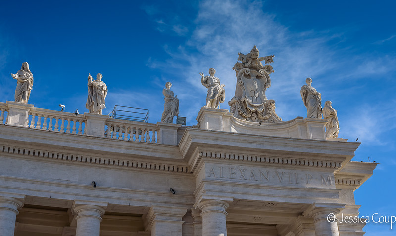 Statues Surrounding St. Peter's Square