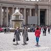 Nuns Leaving St. Peter's Square