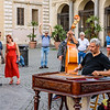 Playing in the Piazza