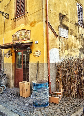 E. Ceralli Forno Casareccio, Dal 1920 - Homemade Bakery, Est. 1920 - Frascati, Italia