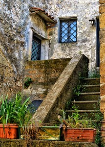 """""""We'll Leave the Light On For You"""" - Calcata, Italia"""