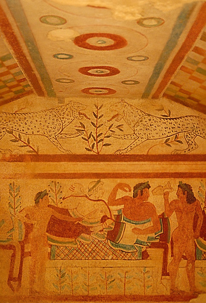 Tarquinia Etruscan Tomb Painting