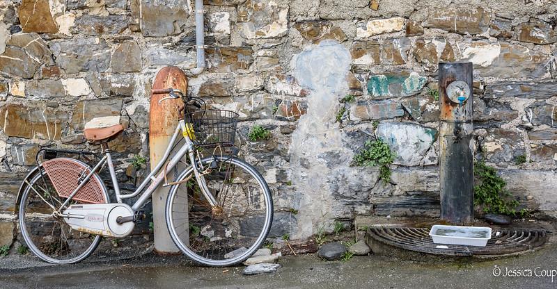 Bike by Fountain