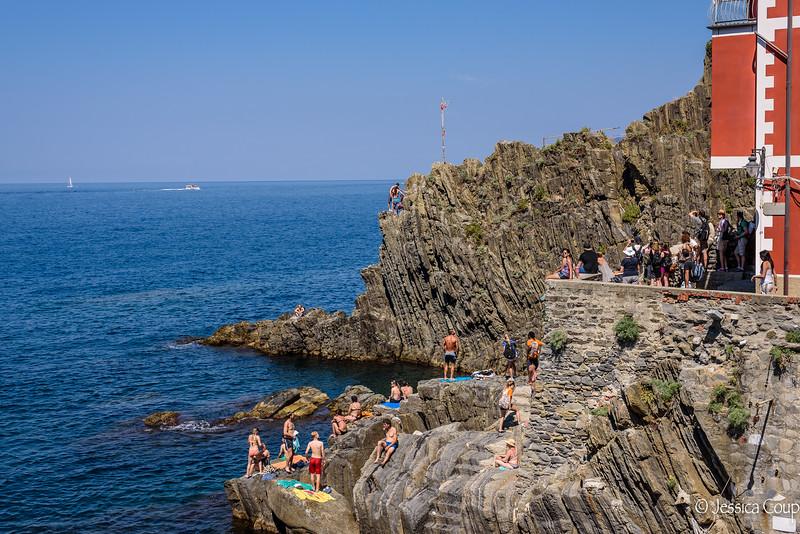 A Spot on the Rocks