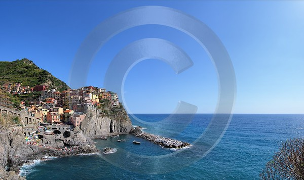 Manarola Cinque Terre Ocean Town Viewpoint Cliff Port Modern Art Prints Animal Fine Art Landscape - 002164 - 18-08-2007 - 7174x4263 Pixel