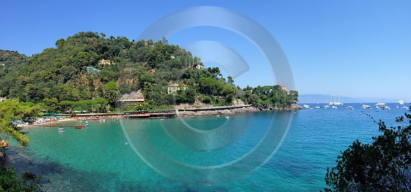 Portofino Paraggi Beach Ocean Images Modern Art Prints Photography Fog Coast Landscape Photography - 002055 - 16-08-2007 - 8969x4180 Pixel