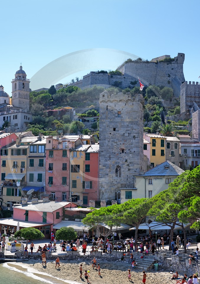 Portovenere Liguria Port Yacht Boat Ship Houses Ocean Nature Fine Art Printer Fine Art Landscapes - 002311 - 23-08-2007 - 4243x6006 Pixel