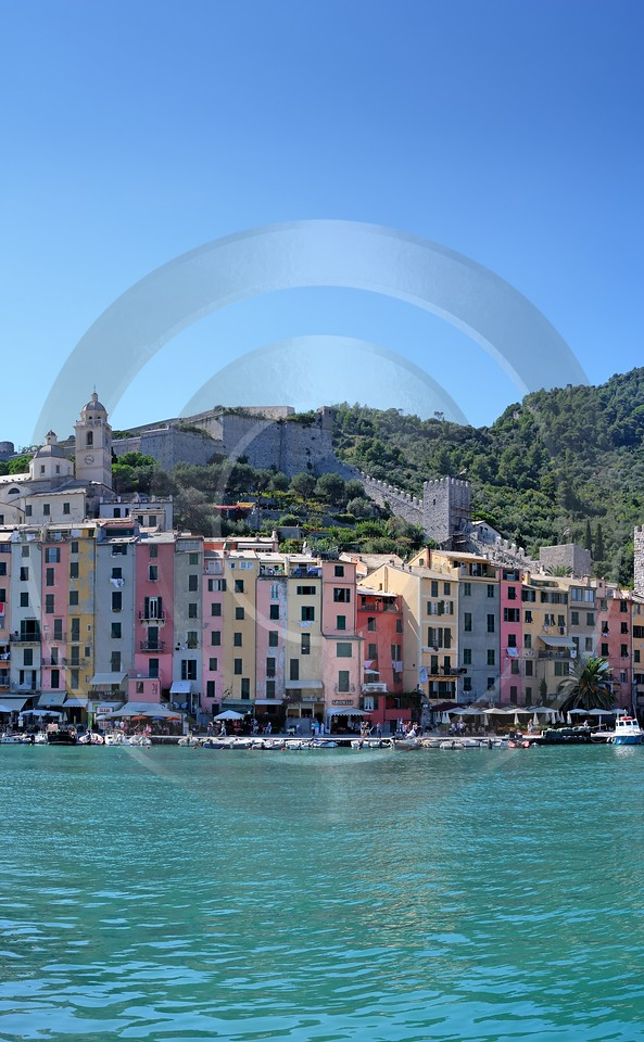 Portovenere Liguria Port Yacht Boat Ship Houses Ocean Photo Beach Fine Art Photographers - 002308 - 23-08-2007 - 4171x6751 Pixel