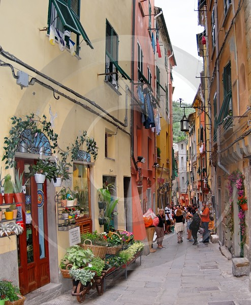 Portovenere Liguria Port Houses Ocean Town Village Lane Stock Fog What Is Fine Art Photography - 002291 - 23-08-2007 - 3264x3967 Pixel