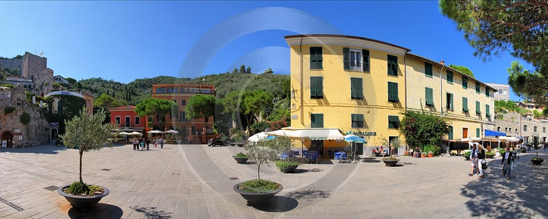 Portovenere Liguria Place Piazza Town Village Modern Wall Art Photography Lake Forest - 002309 - 23-08-2007 - 11235x4500 Pixel
