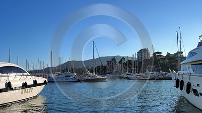 Rapallo Liguria Port Ship Yacht Boat Harbour Ocean Fine Art Landscapes Art Photography Gallery - 002330 - 23-08-2007 - 7695x4301 Pixel