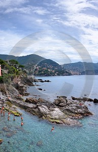 Recco Liguria Genua Ocean Houses Clif Beach Sky Famous Fine Art Photographers Sea Winter Lake - 002336 - 24-08-2007 - 4228x6567 Pixel