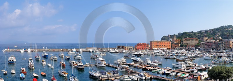 Santa Margherita Ligure Port Stock Image Coast Town Art Prints Stock Fine Art Prints Summer Tree - 002003 - 15-08-2007 - 11199x3909 Pixel