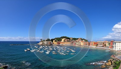 Sestri Levante Port Ocean Boat Beach Fine Art Photo Sunshine Fine Arts Fine Art Leave Shoreline - 002072 - 17-08-2007 - 7465x4250 Pixel