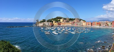 Sestri Levante Port Ocean Boat Beach Royalty Free Stock Photos Fine Art Landscape Sale Ice - 002070 - 17-08-2007 - 9260x4221 Pixel
