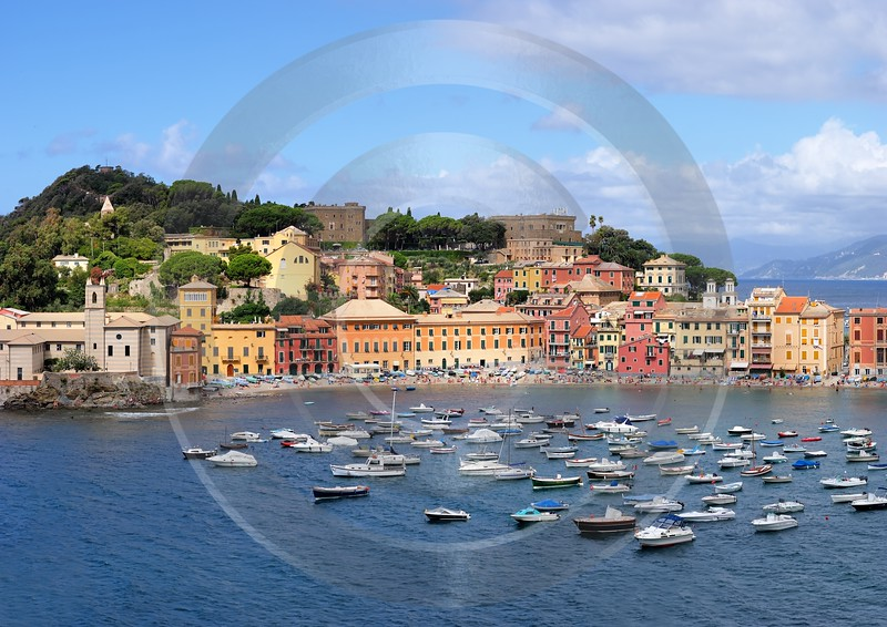 Sestri Levante Port Ocean Boat Beach Fine Art Photography Gallery Prints For Sale Stock Image - 002062 - 17-08-2007 - 6036x4272 Pixel