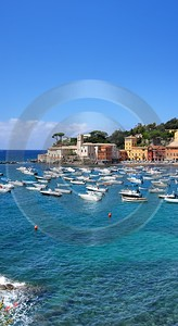 Sestri Levante Port Ocean Boat Beach Flower Stock Image Fine Art Nature Photography Country Road - 002078 - 17-08-2007 - 4579x8384 Pixel
