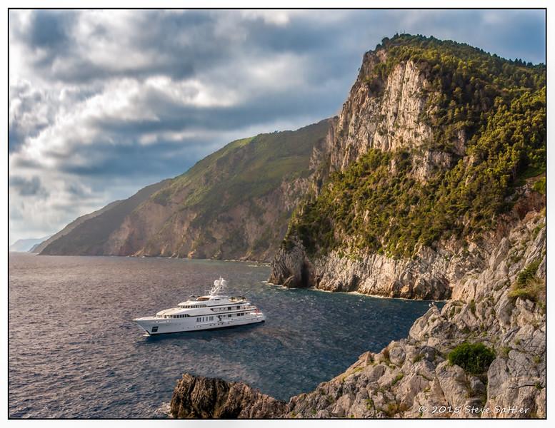 Yachting in Portovenere Italy