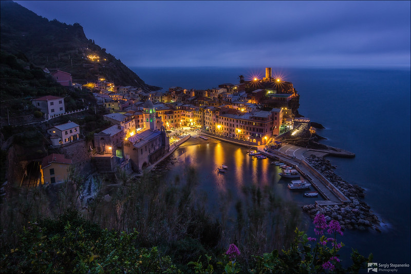 Vernazza Evening | Вечер в Vernazza
