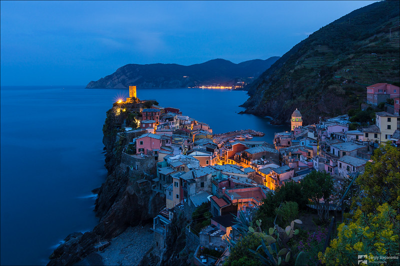 Morning in Vernazza | Утро в Vernazza