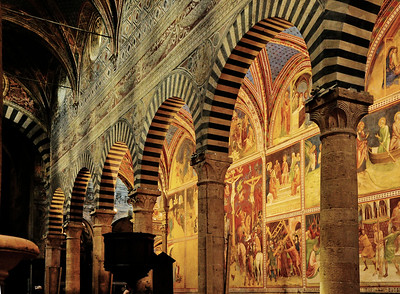 San Gimignano church interior