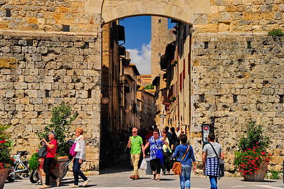 San Gimignano entrance