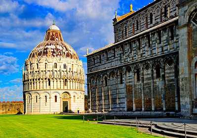 Pisa Baptistery & Cathedral