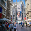 Diesel Billboard on the Duomo
