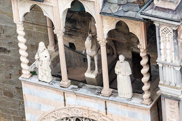 Giovanni da Campione's porch on the left transept
