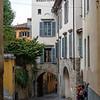 On the streets of Bergamo