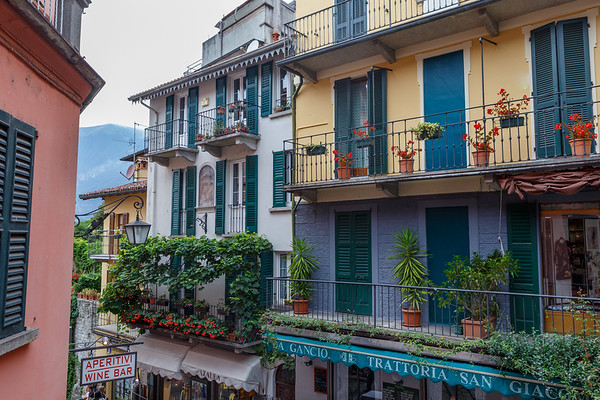 On the streets of Bellagio